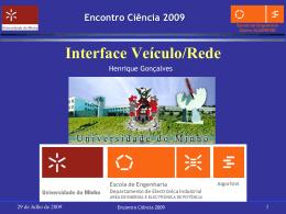 Interface veículo/rede