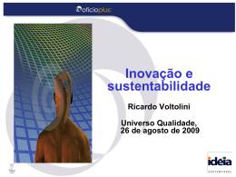 Ricardo Voltolini - Universo Qualidade