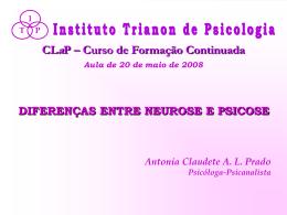 neurose psicose