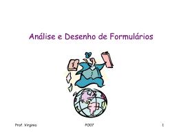 po-07 - análise e desenho de formulários