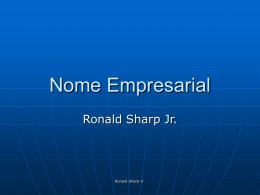 Nome Empresarial