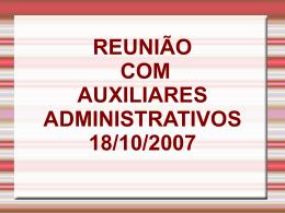 10 Reuniao Auxiliares Administrativos
