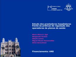 Política do Hospital em função de exigências de outra