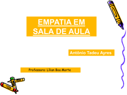 EMPATIA EM SALA DE AULA 111