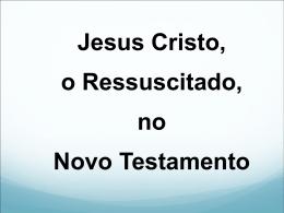 A Ressurreição - Material de Catequese