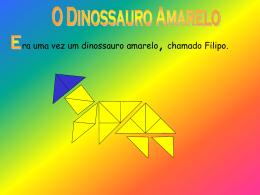 O dinossauro amarelo