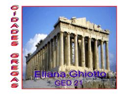 A Cidade grega - Capital Social Sul