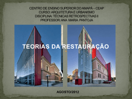 centro de ensino superior do amapá * ceap curso: arquitetura e