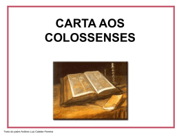 Cartas aos Colossenses