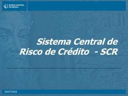 Devolução de informações - Banco Central do Brasil