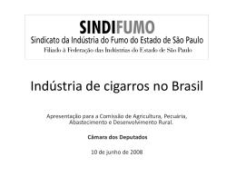 Indústria de cigarros no Brasil