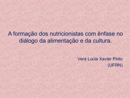A Cultura na formação do nutricionista