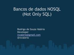 bancosdedadosnosqlnotonlysql-110719214039