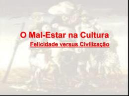 Mal-estar na Cultura