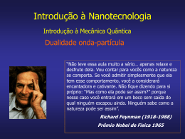 x - Nanotecnologia