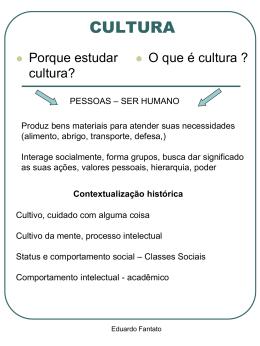 CULTURA - Objetivo Sorocaba