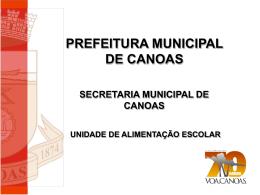 Situação da Prefeitura de Canoas