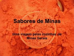 SABORES DE MINAS