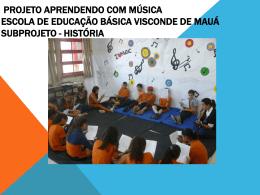 Atividade 3: Aprendendo com música