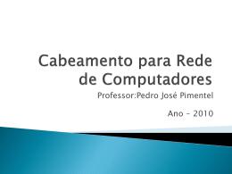 Cabeamento e Hardware de Rede de Computadores