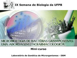 Slide 1 - DEPARTAMENTO DE BIOLOGIA MOLECULAR