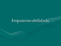 Impatenteabilidade - Denis Borges Barbosa