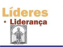 Líderes e Liderança
