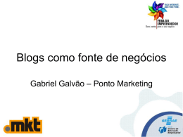 Slide 1 - Ponto Marketing