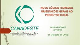 Novo Código Florestal - Sindicato Rural de Ituverava