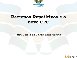 RECURSOS REPETITIVOS
