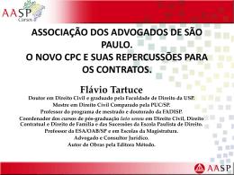 palestra. aasp. novo cpc e contratos