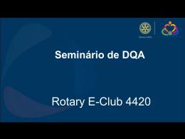Rotary E-Club um novo formato