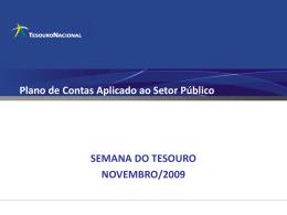 Novo Plano de Contas do Setor Público - Sefaz-AM