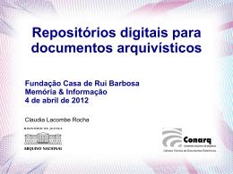 Apresente um Novo Produto - Fundação Casa de Rui Barbosa