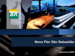 Petrobras - Novo píer São Sebastião