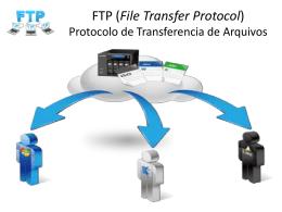 FTP (File Transfer Protocol) Protocolo de