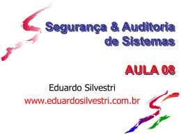 Firewall - Professor Eduardo Silvestri