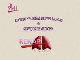 Objectivos ( 424Kb ) - Sociedade Portuguesa de Medicina Interna