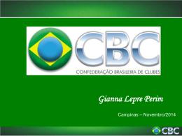 Instrumento de Convênio - Confederação Brasileira de Clubes
