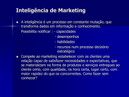 Aula 02 - Inteligência de marketing