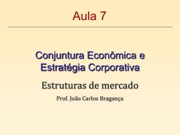 2. Concorrência pura ou perfeita - Universidade Castelo Branco