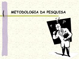 Estágio 1 - Apresentação Metodologia