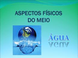 O que é a água? - Portal de escolas da Madeira