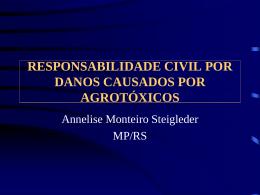RESPONSABILIDADE CIVIL POR DANOS CAUSADOS - Crea-RS