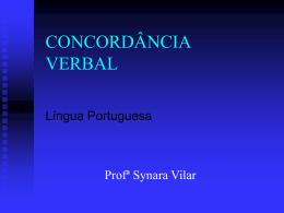 verbo no singular. - Colégio Salesiano Recife