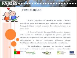 Sexualidade - Agrupamento de Escolas de Fajões