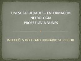 INFECÇÕES DO TRATO URINÁRIO SUPERIOR