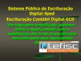 Slide 1 - Lefisc
