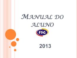 Slide 1 - FSG - Faculdade São Geraldo