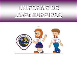 UNIFORME DE AVENTUREIROS - Associação Paulista Central